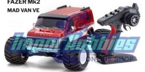 Kyosho Fazer MK2 Mad Van VE 34491T1 . Now in Brushless version.